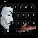 Anonymous Mask Keyboard by Keyboard Theme Factory