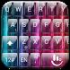 Keyboard Theme Glass Rainbow by Luklek
