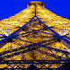 Eiffel Tower at Night LWP