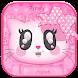 Pink Cute Cartoon Keyboard by 3D / Animated Keyboard Themes