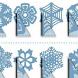 Вырезать снежинки by AppPromoStyle