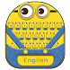 Animated Yellow Cartoon Keyboard Theme (FREE) by android themes & Live wallpapers