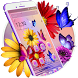 Charismatic Glowing Flowers Theme by HD Themes and Wallpaper