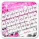 Elegant Pink Diamond Keyboard Theme by 7star princess