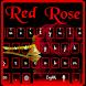 Vampire Dark Rose Keyboard by M Typewriter Theme Studio