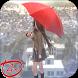 Schoolgirl and Rain Anime Live Wallpaper by Anime Plus