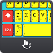 Yellow Cute Sponge Keyboard Theme by Love Free Themes