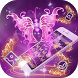 Purple Butterfly Luxury Sparkling Theme by Alice Creative Studio