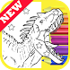 How Draw Coloring Lego Jurassic Dino World by Fans by Draw Coloring Studio Dev