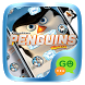 (FREE) GO SMS PENGUINS THEME by We Themes