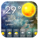 Galaxy Weather Clock Widget