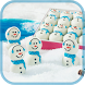 christmas snowman wallpaper by bill.app