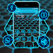 Neon Light Hexagon Theme by Cool Theme Love