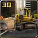 City Road Construction Crane by Digital Toys Studio