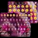 Wonder Girl Emoji Keyboard Theme by Color Emoji Keyboard Studio