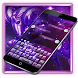 Aries Constellation Warrior Purple Keyboard Theme by Brandon Buchner