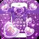Purple Glitter Bowknot Luxury Theme by Alice Creative Studio
