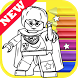 How Draw Coloring for Lego Harry Wizards by Fans by Draw Coloring Studio Dev