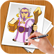 How To Draw Clash Of Clans by BLGSLDEV