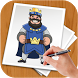 How To Draw Clash Royale by BLGSLDEV
