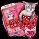 3D Cute Kitty Gift Theme by no.1 3D Theme