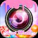 sweet selfie candy makeup pic by Insta g brown App