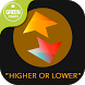 The Higher Lower Game: Twitter by Ultimate Party Apps