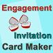 Engagement InvitationCardMaker by Tourist Places India
