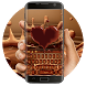 Chocolate Love keyboard by Bestheme Keyboard Designer 3D &HD