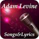 Adam Levine Songs&Lyrics by MutuDeveloper