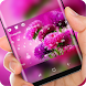 Carnation Theme Pink Purple Mother Flower by Super Hot Themes Design Studio
