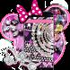Minny Bling Diamond Purple Leopard Theme Desktop by Christina_Liang