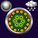 Mandala Weather Clock Widget by Compass Clock and Weather