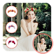 Wedding Flower Crown Hairstyle by Thomas Gupta