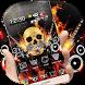 Rock Skull Graffiti Theme by Stylish Theme Creator