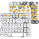 Unicorn Emoji Keyboard Theme by Color Emoji Keyboard Studio