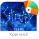Starry theme for XperianZ™ by Rooty Pict