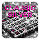 Classic Silver Keyboard by Cool Theme Studio