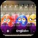 Easter Emoji Keyboard by Keyboard Theme Factory