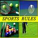 Sports Rules by RamkumarApps