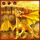 Golden Dragon Keyboard by Luxury Keyboard Theme