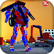 Excavator Transforming Robot by Raydiex - 3D Games Master