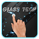Black glass tech HD background by Keyboard and HD Live Wallpapers