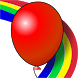Kids game Balloons Rainbow by KWEZIT games