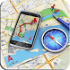GPS Route Finder: Map Navigation & Compass