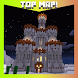 Castle in the desert. MCPE map by Barium mobile