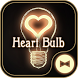 Cute Wallpaper Heart Bulb Theme by +HOME by Ateam