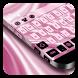 Pink Silk Keyboard by Cool Theme Studio