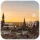 Aachen weather widget/clock by Widget Dev Studio