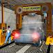 Smart Car Wash Service: Gas Station Car Parking